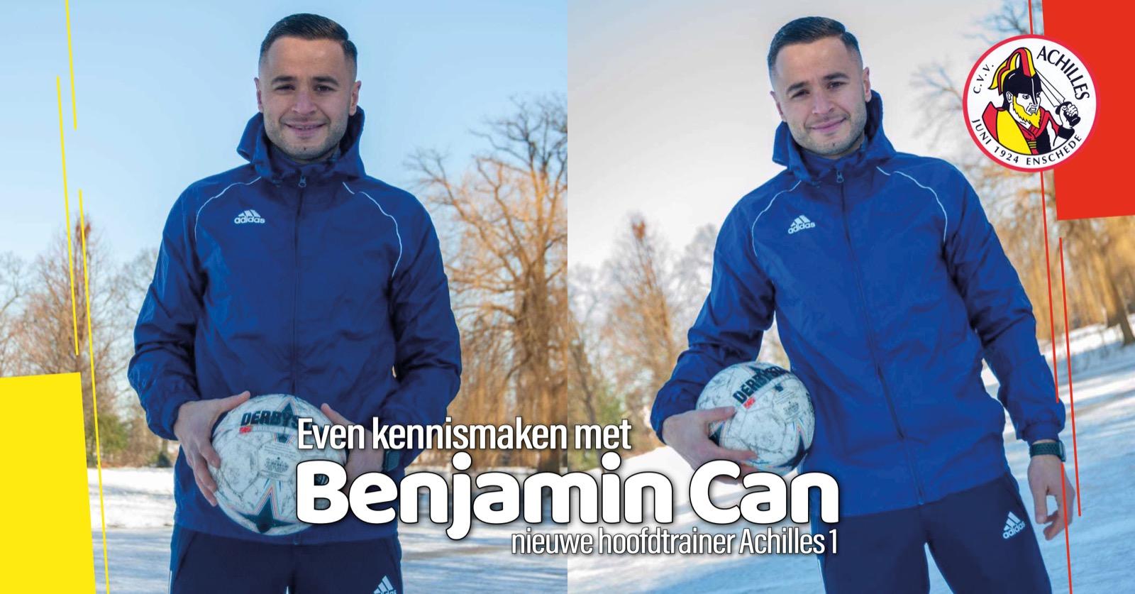 Even kennismaken met Benjamin Can, onze nieuwe hoofdtrainer!
