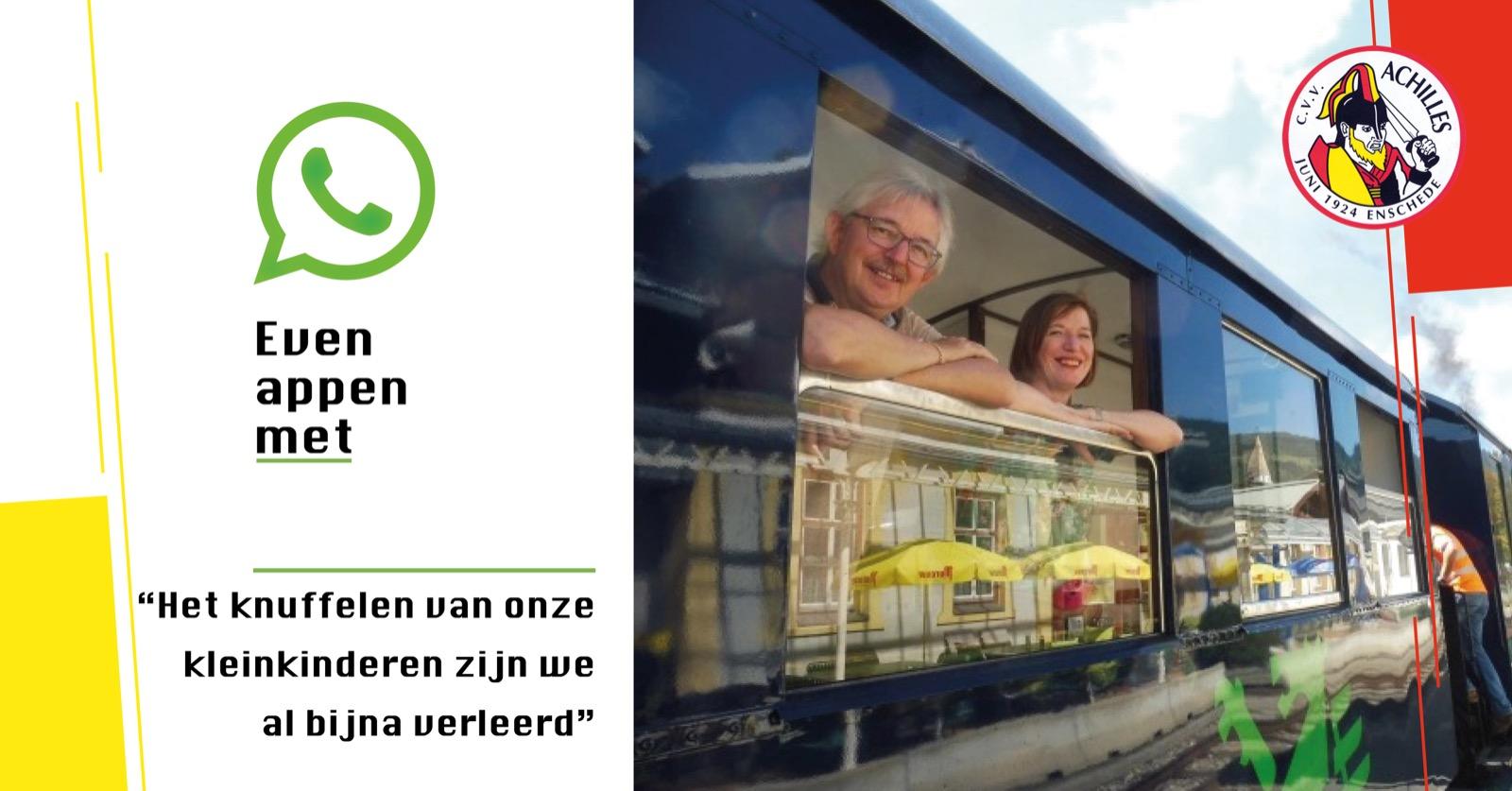Even appen met: Gert en Ineke Scholten