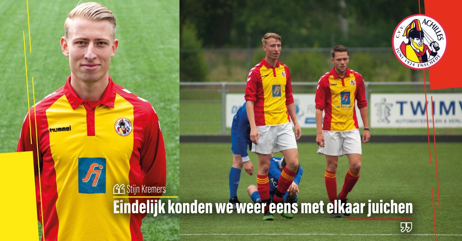Nog even terugblikken met doelpuntenmaker Stijn Kremers