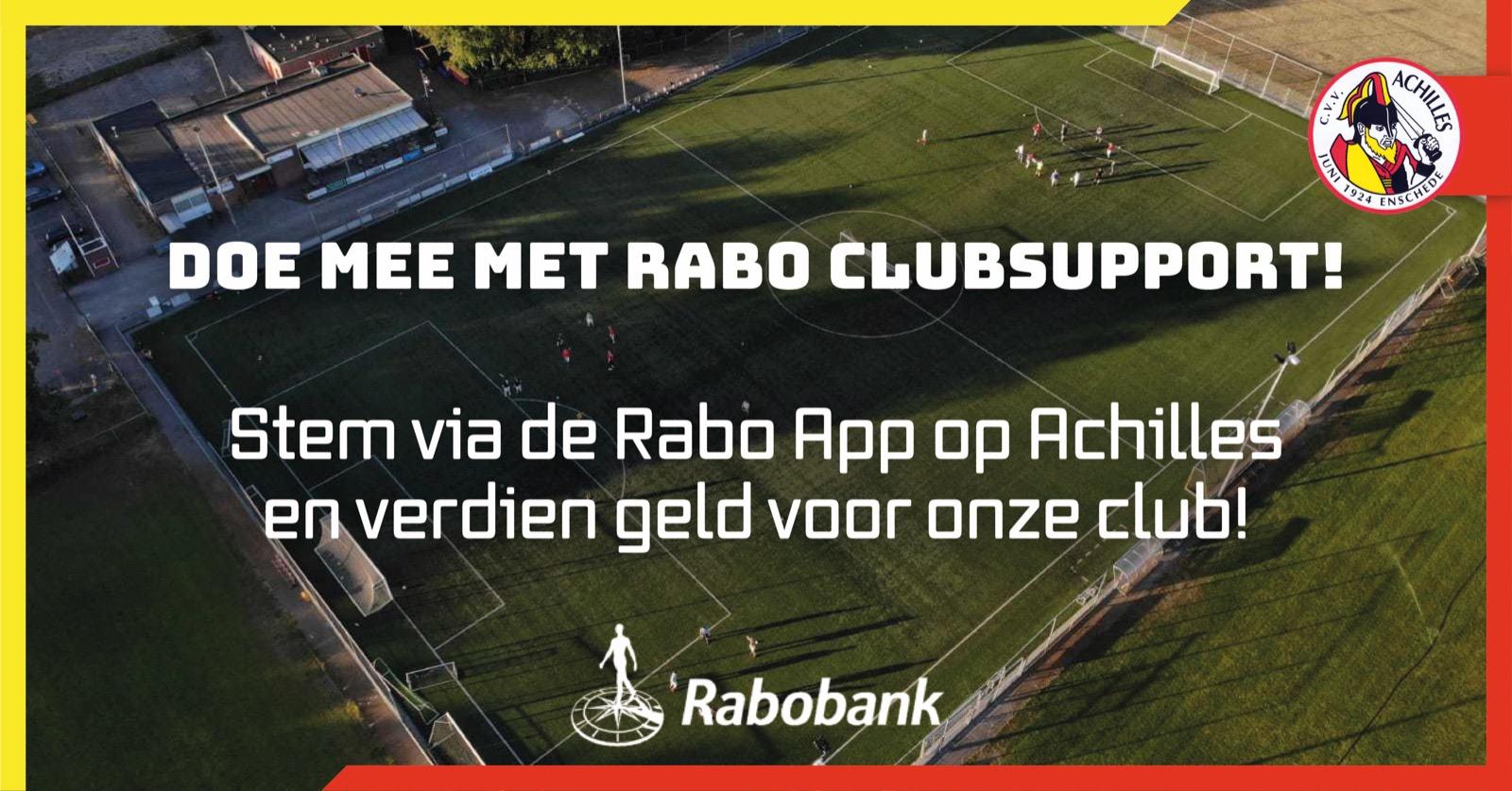 Heb je een Rabobankrekening? Stem dan nu op ons!